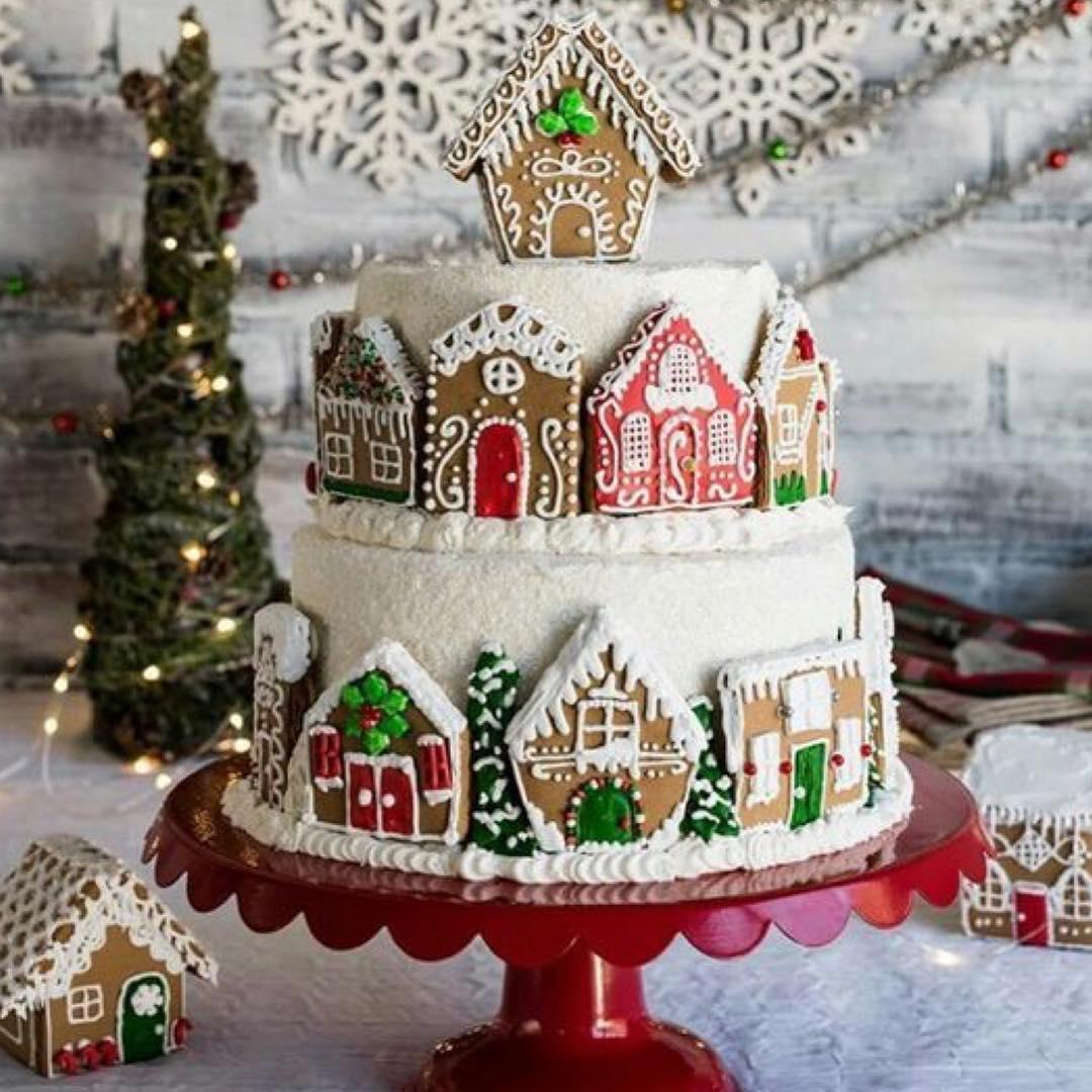 20 Easy Christmas Cake Decoration Ideas Collagecab