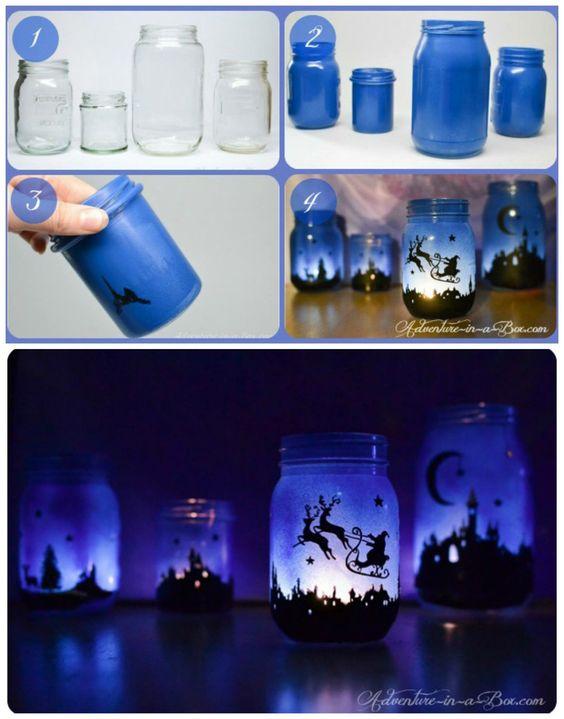 Amazing mason jar craft.