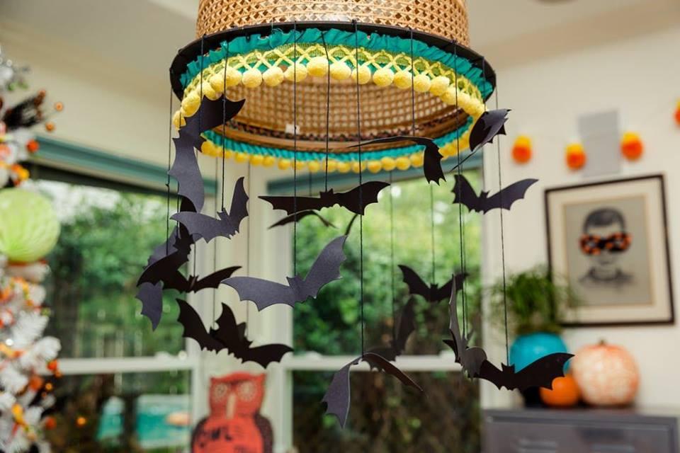 Beautiful Halloween decoration idea.