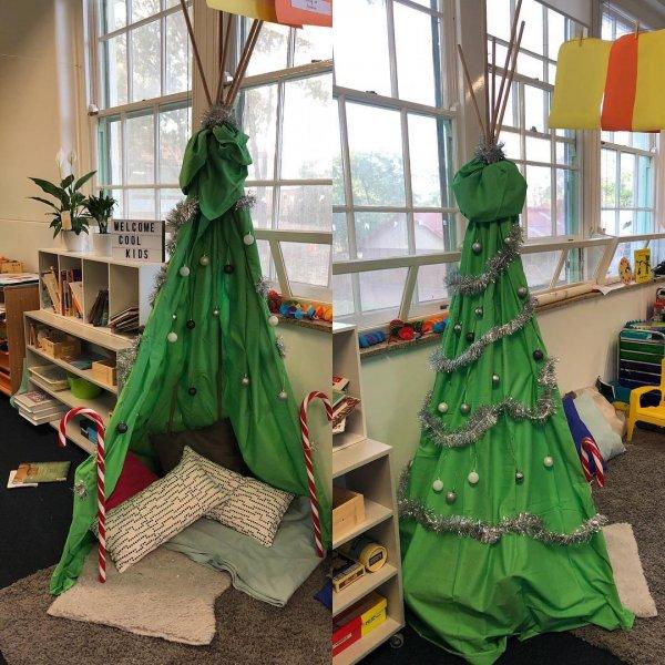 Decorating Classroom For Christmas: 20+ Elegant And Easy Christmas Classroom Decor Ideas You
