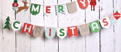 Easy diy christmas photo backdrop