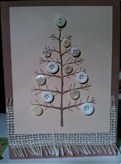 Easy button tree for Christmas.