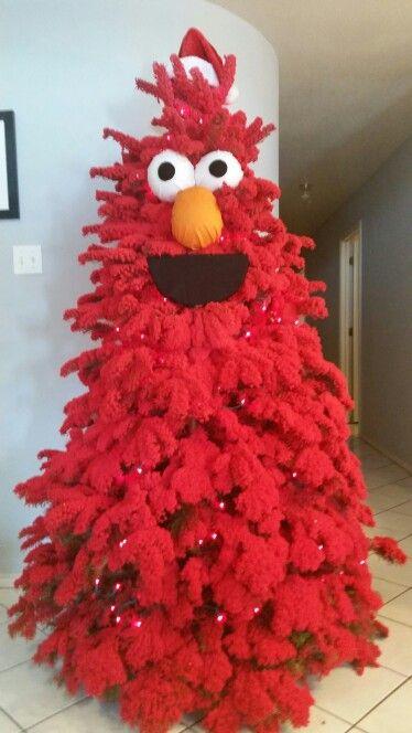 Exclusive elmo Christmas tree idea.
