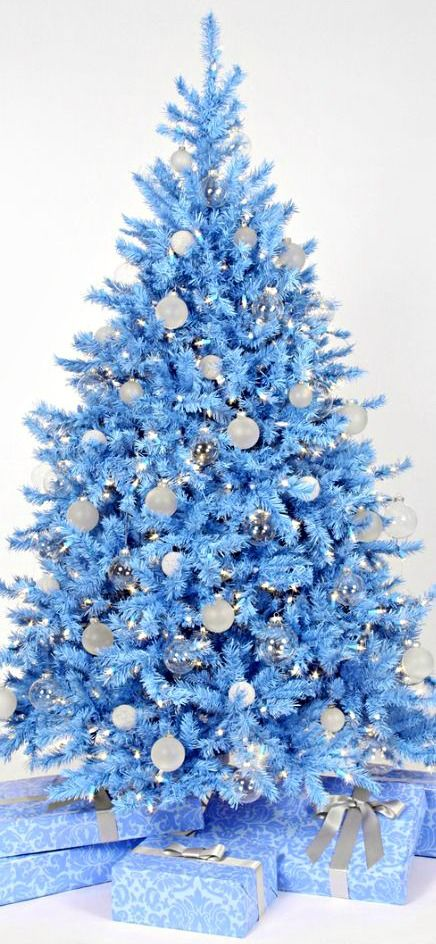 20 Classic Blue Christmas Tree That Celebrates Peace ...