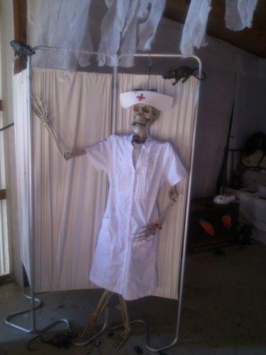 Halloween asylum ward HF member.