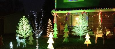 Lighting up your garden on this Christmas.