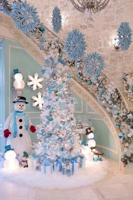 20 Classic Blue Christmas Tree That Celebrates Peace Collagecab