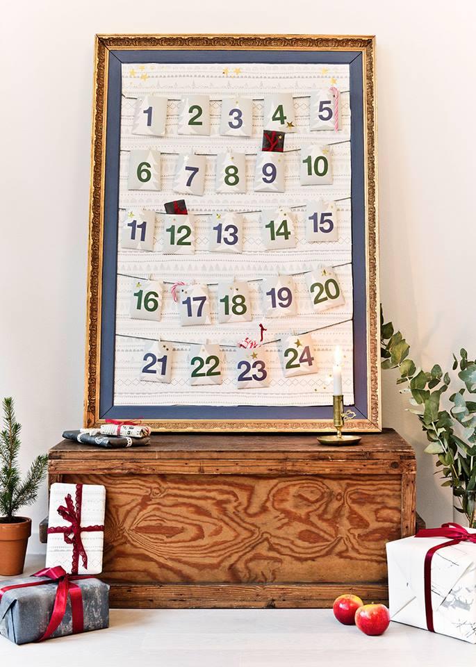 Marvelous photowall advent calendar.
