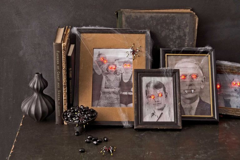 Paranormal portraits for Halloween party.