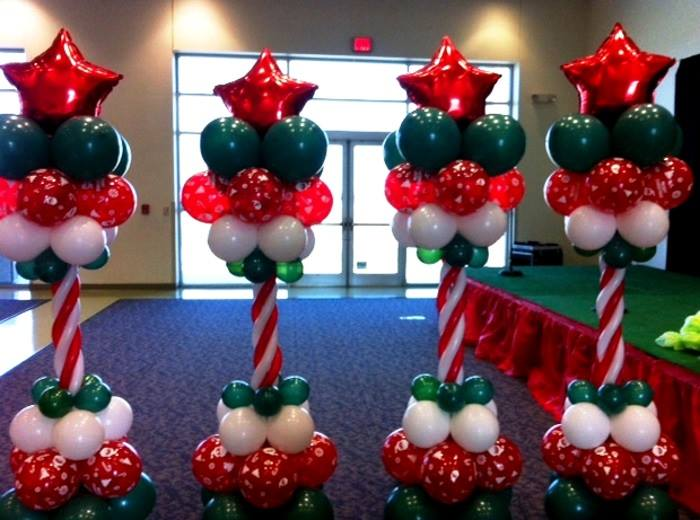 25 adorable christmas balloon decor ideas you can t afford to miss