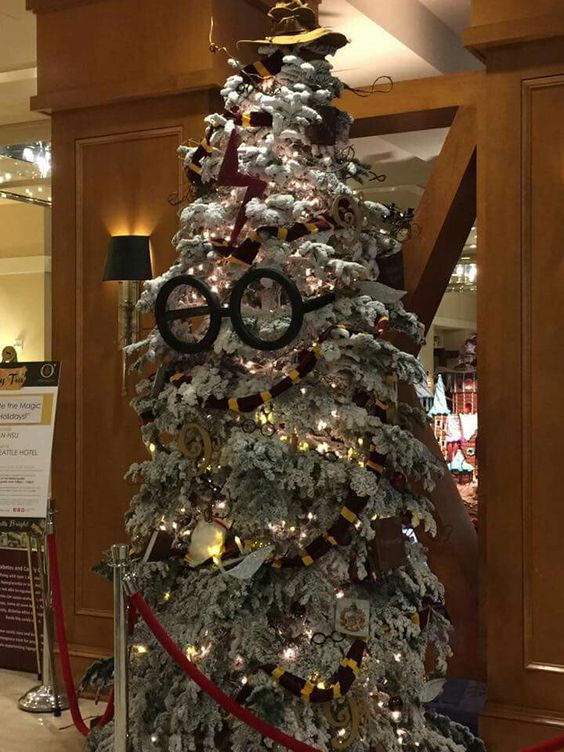 20 Mind Blowing Collection Of Harry Potter Themed Christmas