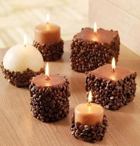 Your coffee bean candle holder is ready to throw a magic of aromatic candle never sense before.