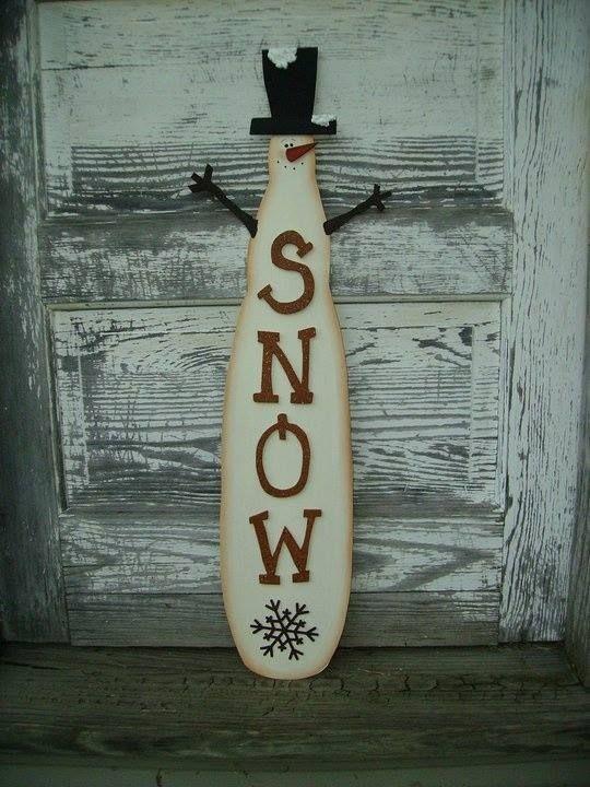 Extra fan blade turn into snowman.