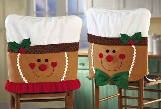 Fabulous dinning room chair cover.