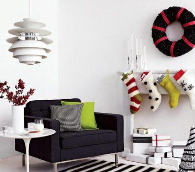 Glamorous Christmas decoration.