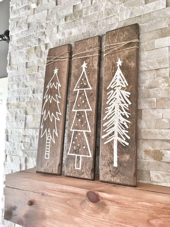 Pallet Christmas tree sign.