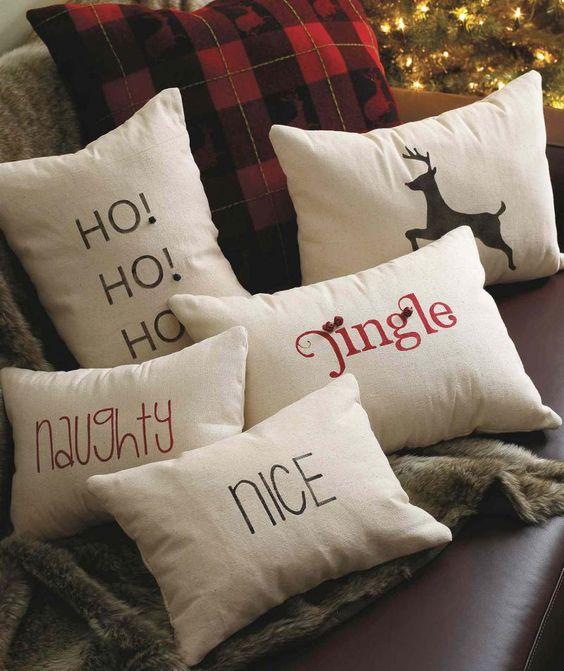 Stunning Christmas pillow cover.