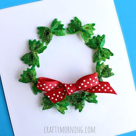 Bow & tie Christmas card idea.