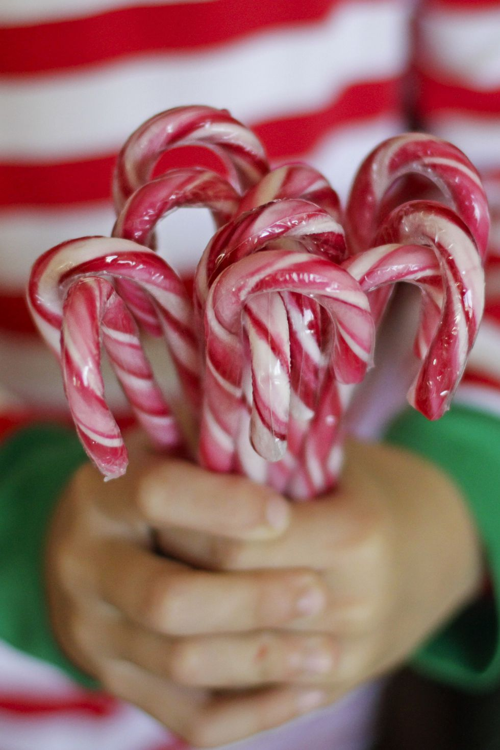 Candy cane hunt.
