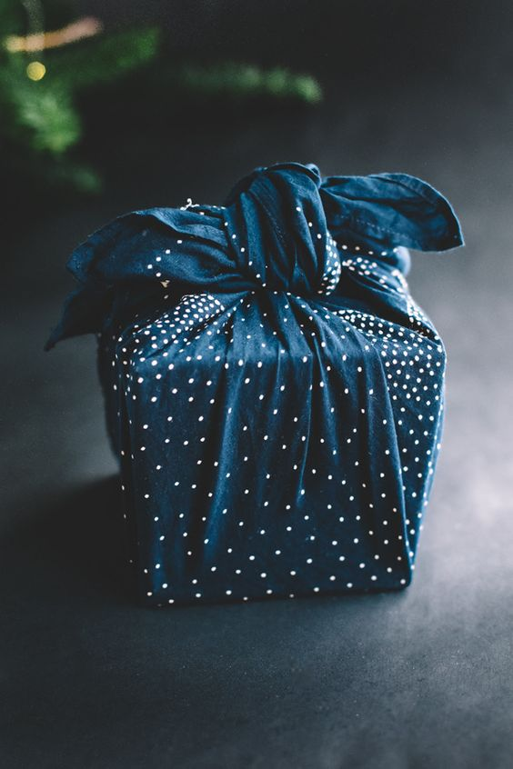 Classic way to wrap a gift.