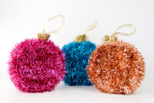 Colorful diy pinatas ornaments.