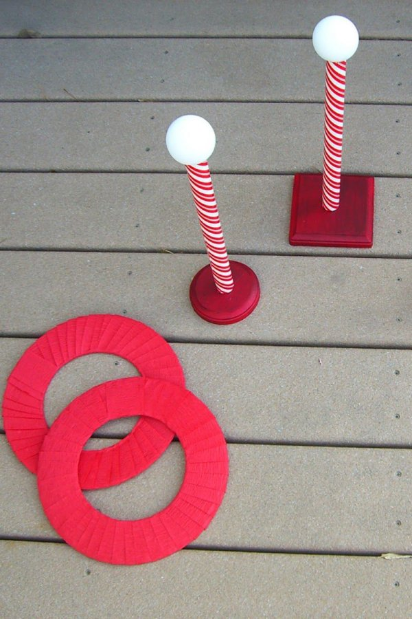 North pole ring toss.