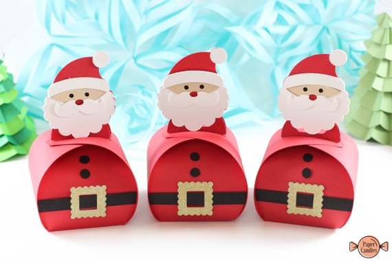 Santa Christmas treat box.