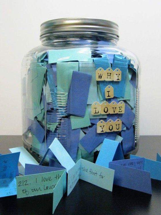 A jar full of lovely reasons.