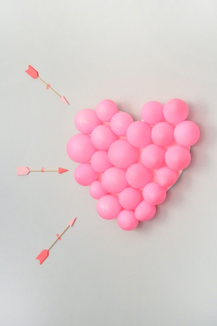 Balloon pop is perfect game for Valentines day.
