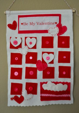 Be my Valentine advent calendar.