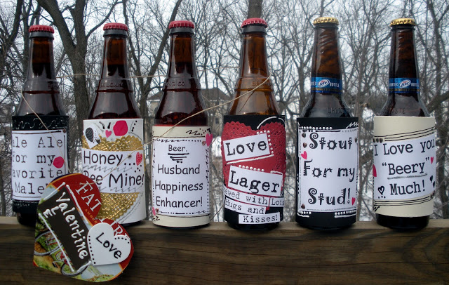 Beer bottle with customize lebels.