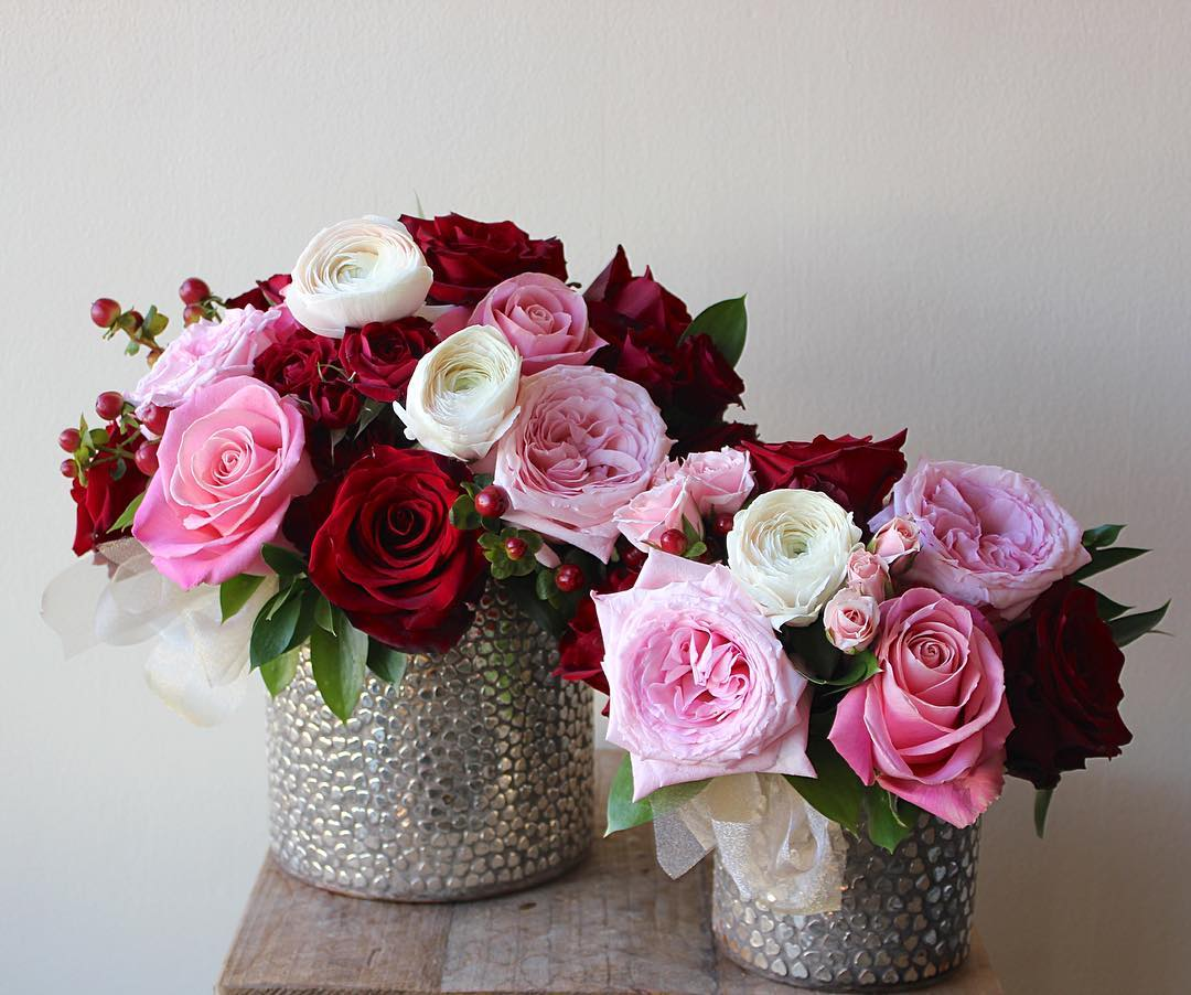 Bespoke florals decoration idea.