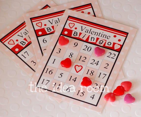 Bingo card game.