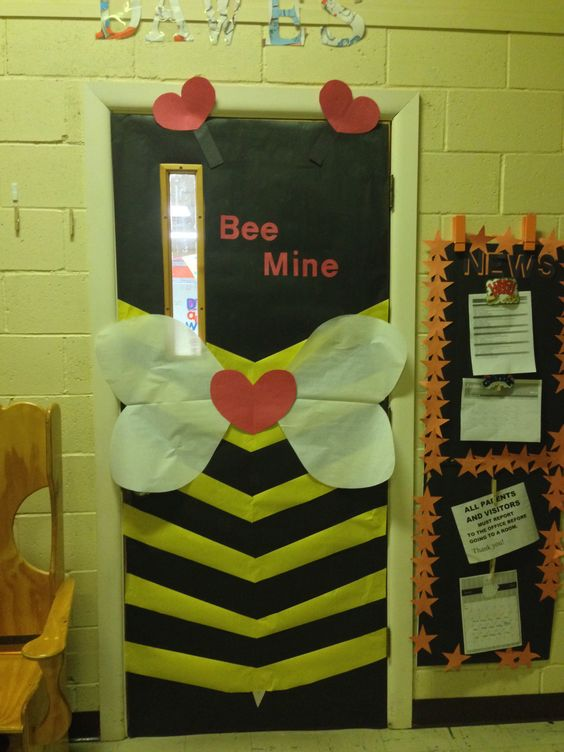 Charming bee mine decor.