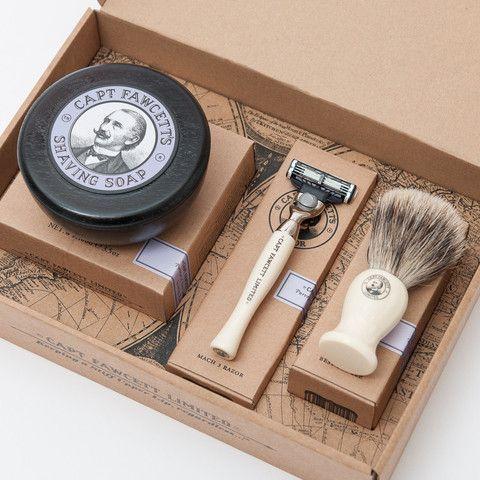 Classic shaving gift set.