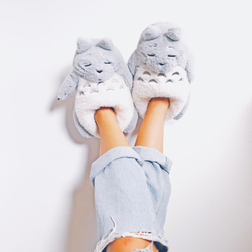 Cozy and super cute slippers.