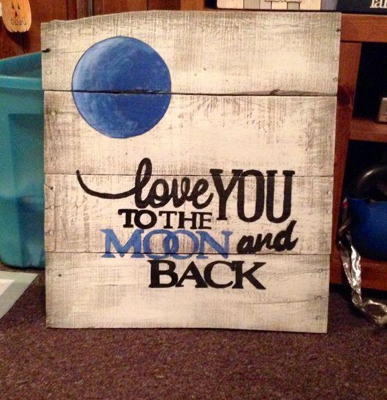 Custom wooden sign board.