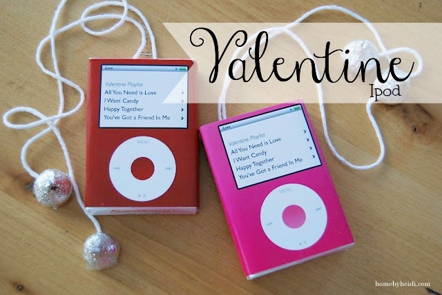 Cute Valentine Ipod.