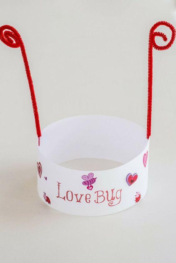 Cute love bug hat.