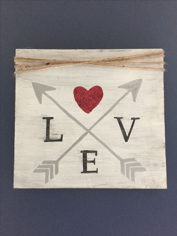 DIY love sign board for special day.