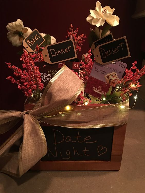 Date night basket.