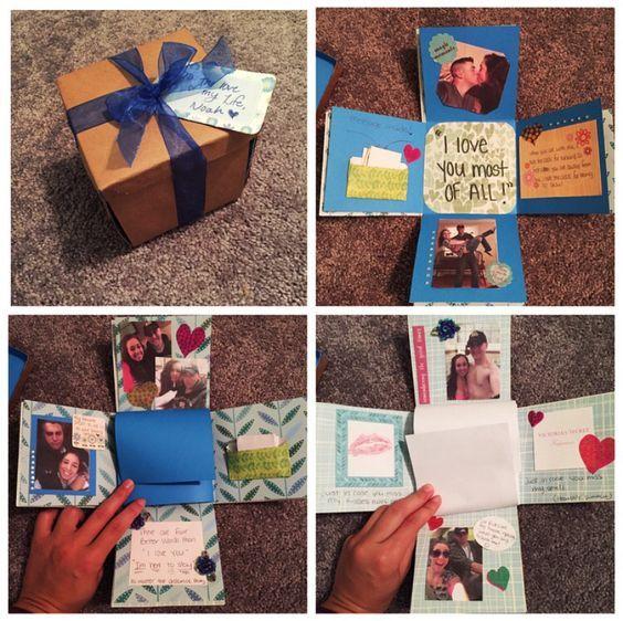 Explosion box for boyfriend.