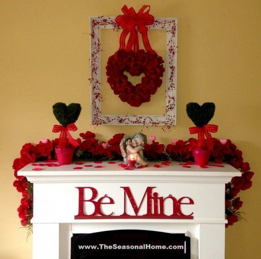 Eye-catching mantel decoration for loved one.