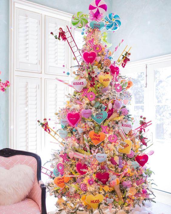 Fabulous Valentines day tree.