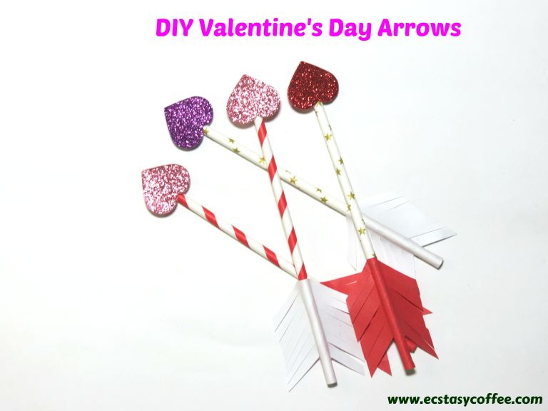 Heart arrow perfect for Valentines day craft.