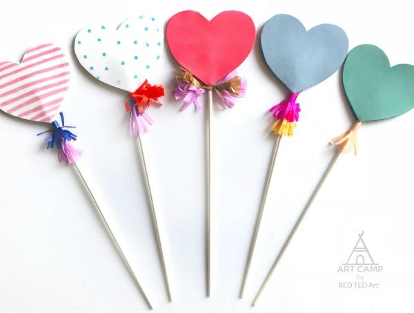 Heart wand for kids.