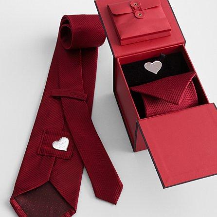 Hidden message tie.