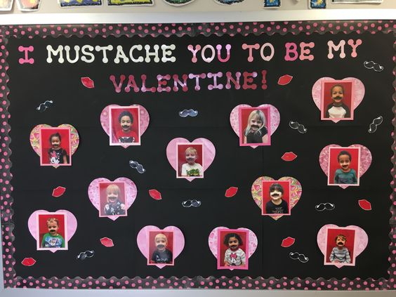 I Mustache you to be mine Valentine!
