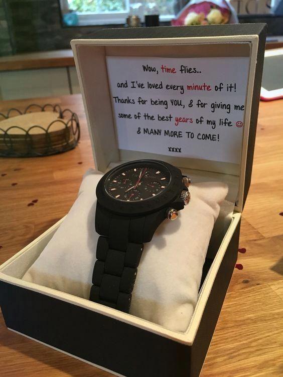 Impress your boyfriend with this watch.