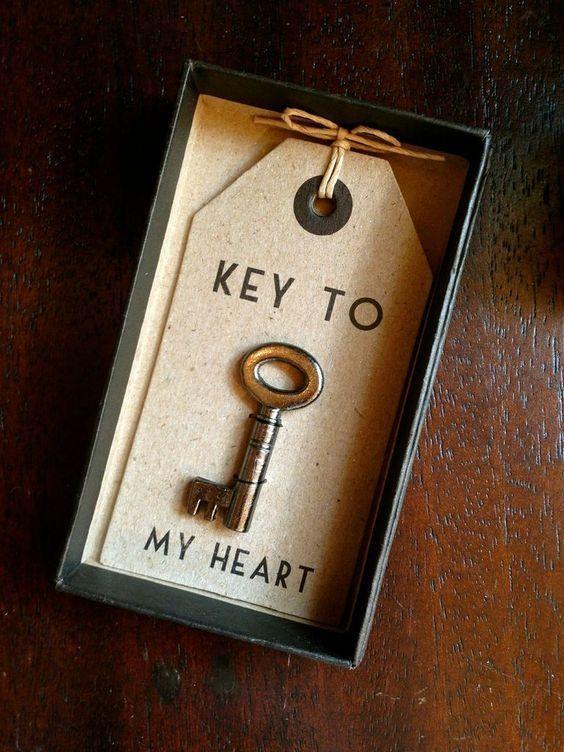 Key to my heart.